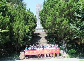 温州鹿城公安青龙湖团建活动