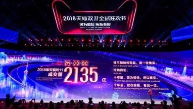 双11,天猫突破2000亿元,中国快递进入10亿时代