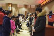 """南平市精准助学大学生""""圣农感恩行""""活动在光泽举行"""
