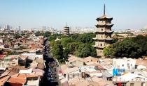 """福建泉州:用双脚丈量城市 感受""""海丝""""古城魅力"""