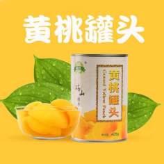 砀山黄桃罐头(5罐)