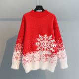 雪花圣诞节毛衣