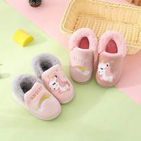 儿童包跟拖鞋 加厚棉拖鞋