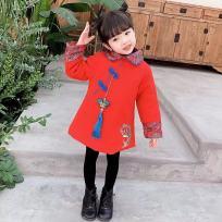 儿童拜年服 旗袍唐装