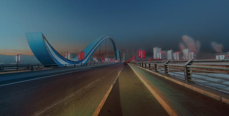 双滦虹桥清晨