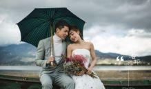 拍摄婚纱照时如何巧妙遮挡肥胖身材?