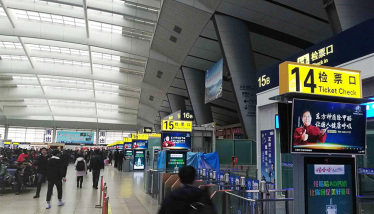 东方神盾第二波列车站广告震撼上线,助力品牌新升级